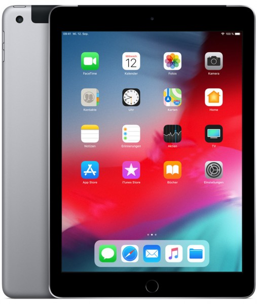 "APPLE iPad (2020) Wi-Fi Cellular 32 GB 10,2"" spacegrau"